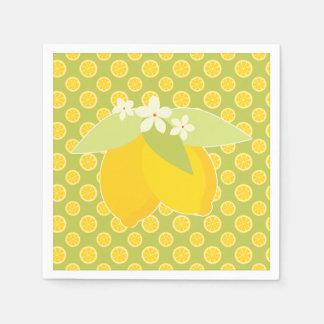Lemon Slice Picnic Napkin