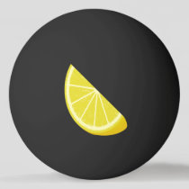 Lemon Slice Ping Pong Ball