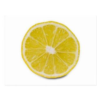 lemon slice postcard