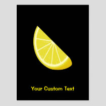 Lemon Slice Postcard
