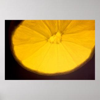 Lemon Slice Poster