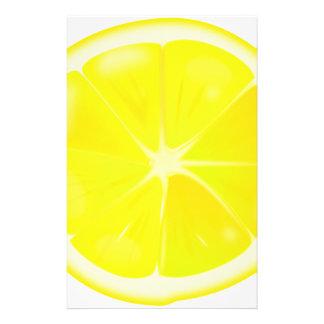 Lemon Slice Stationery