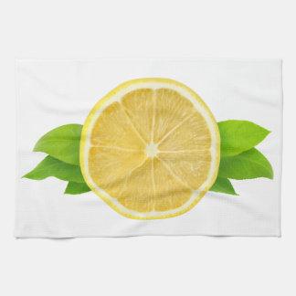 Lemon slice towel