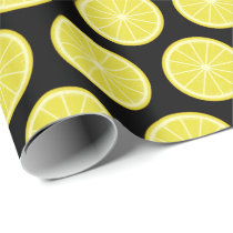 Lemon Slice Wrapping Paper
