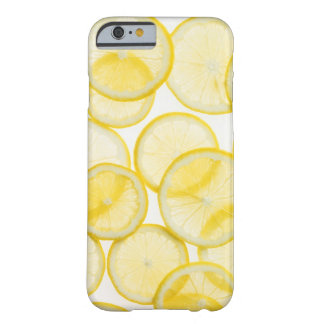 Lemon slices arranged in pattern backlit barely there iPhone 6 case