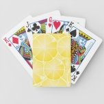 Lemon Slices Bicycle Playing Cards
