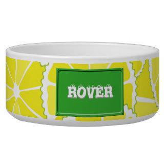 Lemon slices bowl