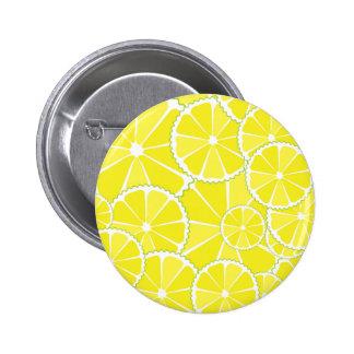 Lemon slices button
