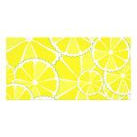 Lemon slices card