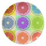 Lemon Slices Dinner Plate