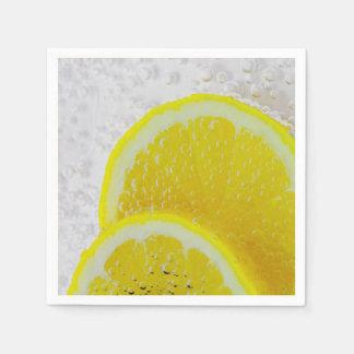 Lemon Slices Fresh Fruit Napkin