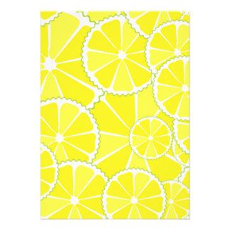 Lemon slices cards