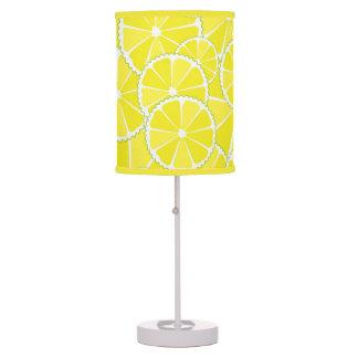 Lemon slices desk lamp