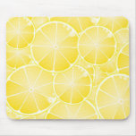 Lemon Slices Mouse Pad