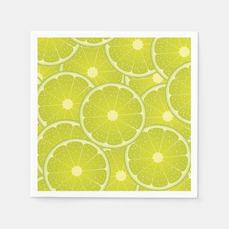 Lemon slices paper plates. paper napkin