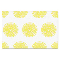 Lemon slices pattern design tissue paper