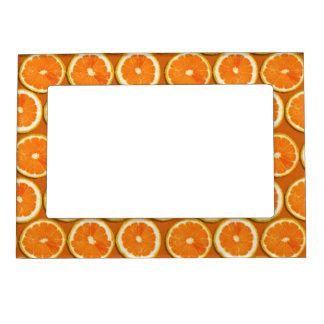 Lemon Slices Pattern Magnetic Photo Frame