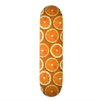 Lemon Slices Pattern Skateboard
