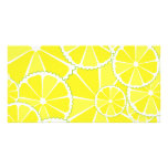 Lemon slices photo card