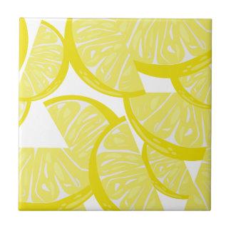 Lemon Slices Small Kitchen Tile