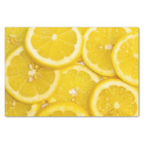 Lemon Slices Tissue Paper