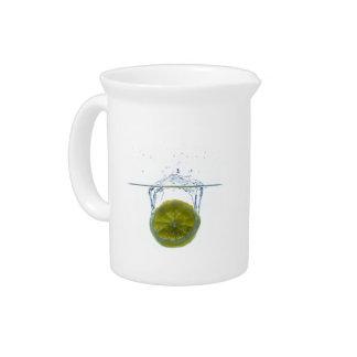 Lemon splash pitcher
