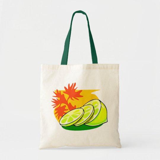 Lemon Splash Tote Bag