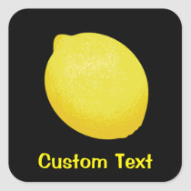 Lemon Square Sticker