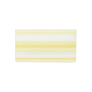 Lemon stripes checkbook cover