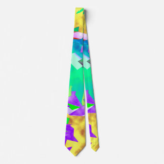 Lemon Sun Neck Tie