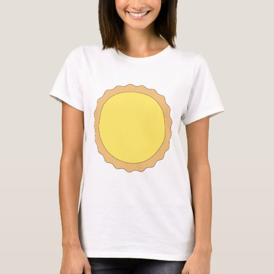 Lemon Tart Pastry. Sunny Yellow. T-Shirt