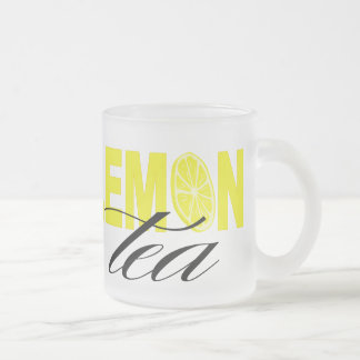 Lemon Tea | glass 10 Oz Frosted Glass Coffee Mug