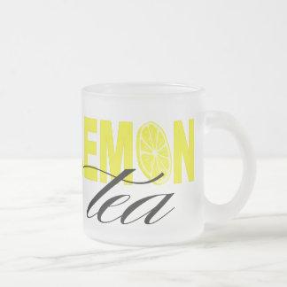 Lemon Tea | glass Frosted Glass Coffee Mug