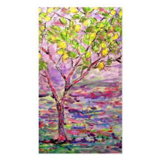 lemon tree art business card