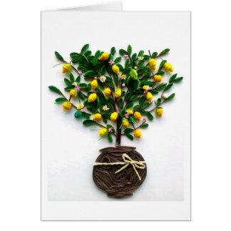 Lemon tree card