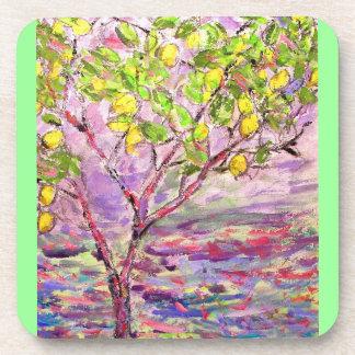 Lemon Tree Drink Coaster