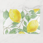 Lemon Tree Glass Trinket Trays