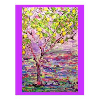 Lemon Tree Zen Postcard