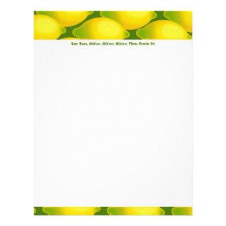 Lemon Wallpaper, Lemon Wallpaper, Your Name, Ad... Letterhead
