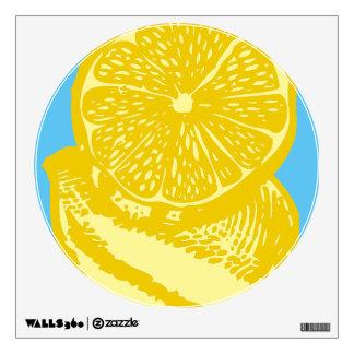 Lemon Walls 360 Custom Wall Decal