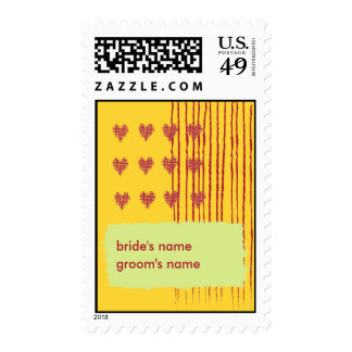 Lemon Wedding Stamp