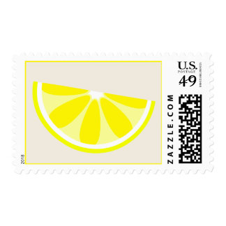 Lemon Wedge Postage
