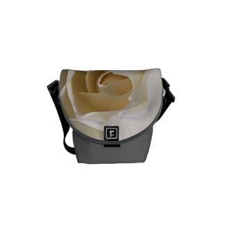 Lemon White Rose - Mini Messenger Bag