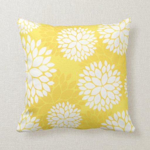 Yellow Pillows - Yellow Throw Pillows Zazzle
