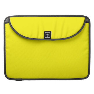 LEMON YELLOW (solid fruity color) ~ MacBook Pro Sleeve