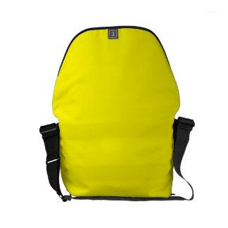 LEMON YELLOW (solid fruity color) ~ Small Messenger Bag