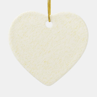 Lemon Zest print - yellow faun accessories custom Ceramic Ornament