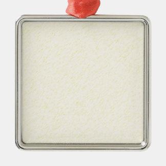 Lemon Zest print - yellow faun accessories custom Metal Ornament
