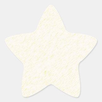 Lemon Zest print - yellow faun accessories custom Star Sticker