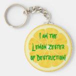 Lemon Zester of Destruction! Keychain